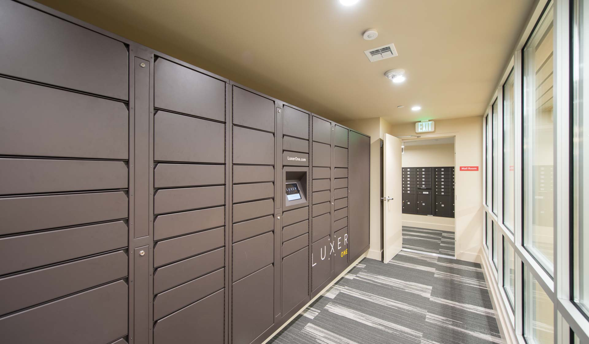 Southstar Lofts - Philadelphia Apartments - lockers